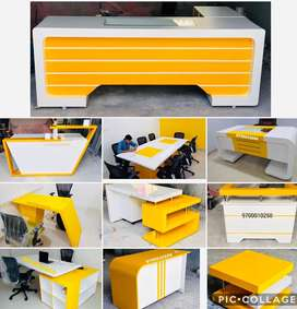 Customised office tables chairs from Aarti Furnitures