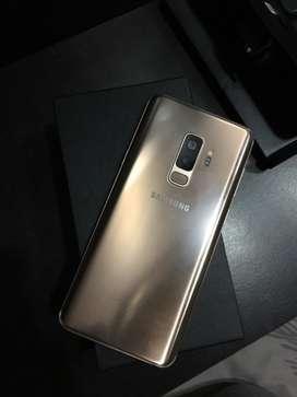 Samsung S9 plus 128 gb 7 days old