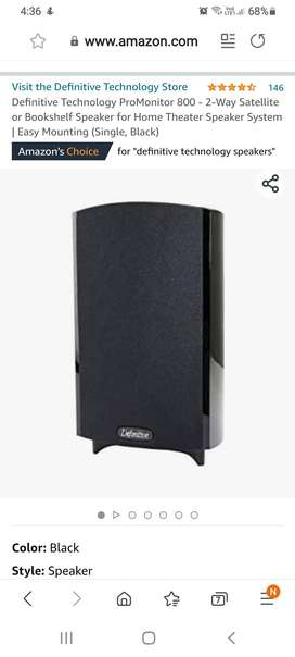 2 unused Speakers for home Theatre system