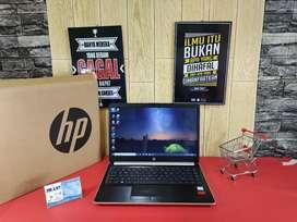 (JUALL) LAPTOP HP 14s CORE i5-8265U RAM 4GB HDD 1TB
