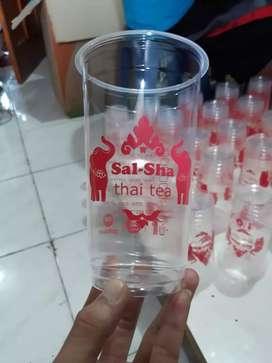 Gelas plastik Hits CUP PET 22oz