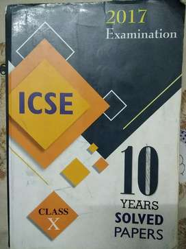 10 years solved question papers