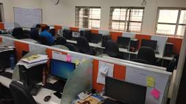 3100 sq.ft fully furnished commercial office space rent in Koramangala