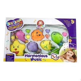 MOMO A Musical Mobile Harmonious Music Mainan Bayi merupakan mainan ba