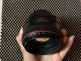Canon Lens 50mm F1.2 L USM