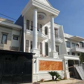 Rumah Mewah Baru 4 Lantai