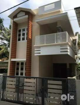 3 cent's 1500 Sqft 3 BHK brand new house Rs. 58 lakhs at Tripunithura