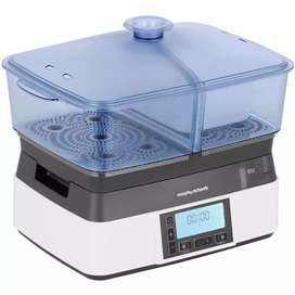 UK imported Morphy Richards digital food steamer very good condition