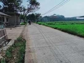 Tnh Strategis pinggir jln samping prumahanlt.420m2 diKarapang Wetan