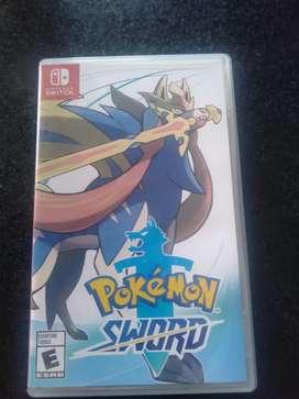 kaset Nintendo pokemon sword