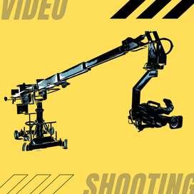 Jasa Video Shooting, Sewa Proyektor & LED TV Area Jogja 24jam