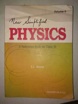 S.L Arora Physics reference book (vol-2) for class 11(H.S first year)