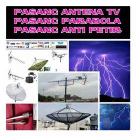 Pasang Antena Tv Lcd Digital - Pasang Parabola & Penangkal Petir