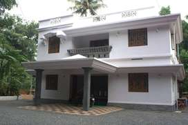 4 BHK Semi Furnished villa for rent at Manjapra