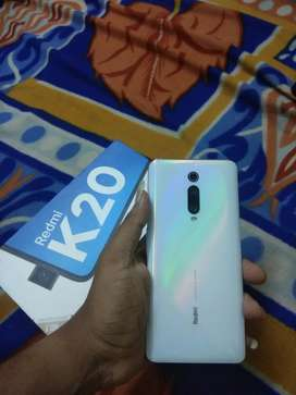 Redmi k20 mobile with Bill, accessories and warranty remaining mobile