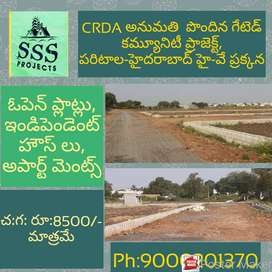 CRDA APPROVED PLOTS WITH LOW BUDGET NEAR TO NATIONAL HIGHWAY