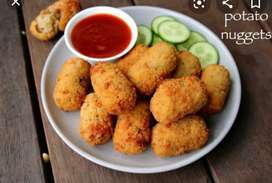 We are startup company so we want evening snacks cook