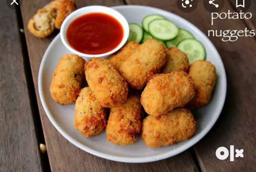 We are startup company so we want evening snacks cook 0