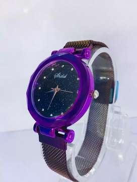 branded magnetic watch for women