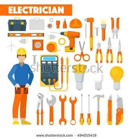 Plumber, & Electrition works at your Door Step