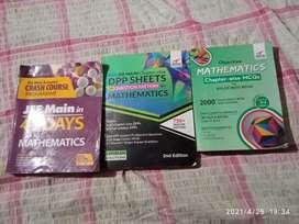 Jee Mains Mathematics Book set