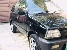 Mehran 2011 model available for monthly rent