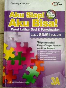 Dijual buku Paket Latihan Soal & Penyelesaian 3A u SD/MI