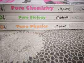 Biology, physics and chemistry topicals