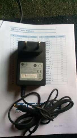 Jual adaptor LG output 12V  2 A
