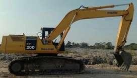 Excavator Komatsu model PC200-5