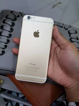 Iphone 6 128gb gold istimewa komplit