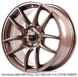 Velg Mobil Baru KAMIKAZE 11033 HSR Ring 16