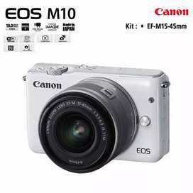 kamera vlogg canon eos M10 mirrorless (second)