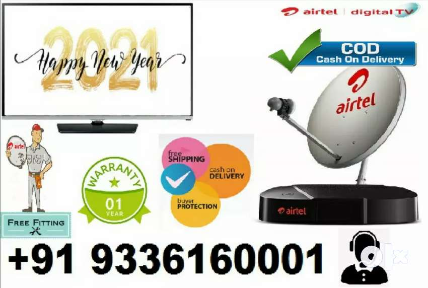 Full connection TATA Sky & Airtel Dth setup box makar sakranti offer 0