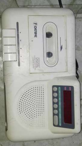 Old Caset Tape with Radio