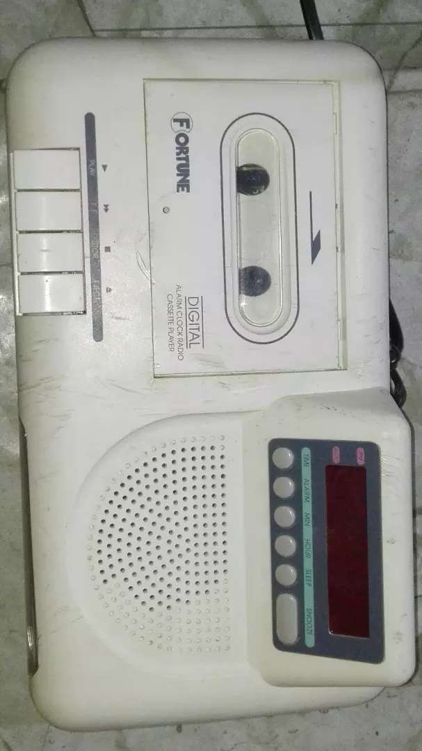 Old Caset Tape with Radio 0