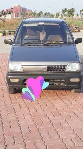 Suzuki mehran car good condition colour black gray  ac heater  on ok