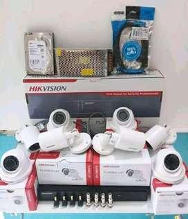 Paket Kamera CCTV Online Via Hp ( Free Instalasi)
