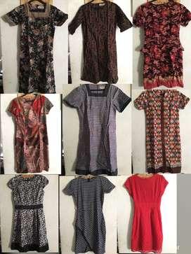 Dress S/M batik dan formal