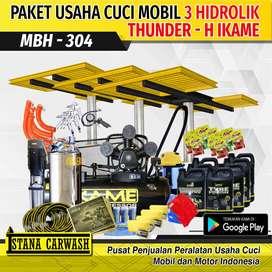 Paket Usaha Cuci Mobil - 3 Hidrolik Alat Cuci Mobil Istana Carwash