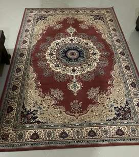 Carpets and rugs in good condition.