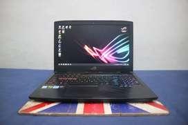 Laptop ASUS ROG STRIX GL503VM Hero Edition (Second-Pemakaian Pribadi)