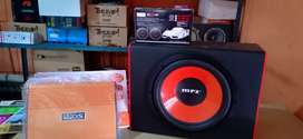 Paket:Power 4 Chnl, Subwoofeer 12 inchi,Box sub, Tweter satu set+Psang