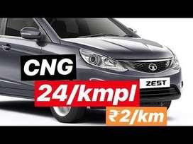 Tata Zest XE Petrol, 2019, CNG & Hybrids