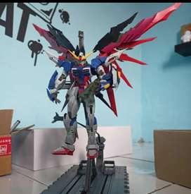 Dicari Destiny Gundam Dragon Momoko Metal Build Sudah di Rakit