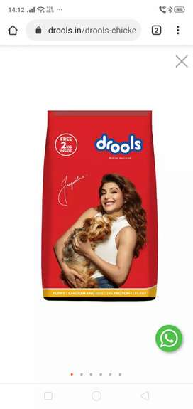 Dog Food Available RoyalCanin/Pedigree/Drools/Smartheart Adult/Puppy