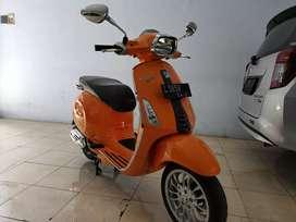 Piaggio Vespa Sprint Orange Kilometer 9 rb barang simpanan