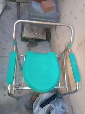 A shower chair