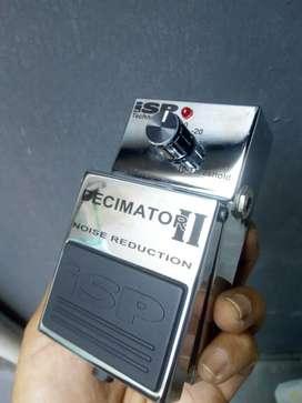 Pedal Effect girar ISP DECIMATOR Noise Suppressor  Gate NS-2 Decimator