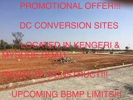 DC CONVERSION SITES & 12 ACRES LAND IN MYSORE ROAD